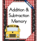 Addition and Subtraction Memory