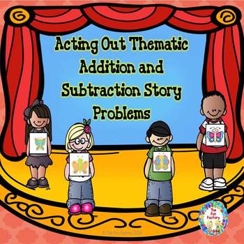 Addition and Subtraction Story Necklaces