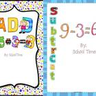 Addition and Subtraction Timed Test with Certificate and P