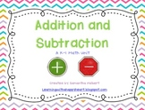 Addition and Subtraction Unit
