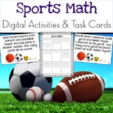 Addition and Subtraction Task Cards {Sports Themed}