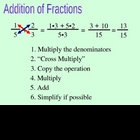 Addition and Subtraction of Fractions using Algebra