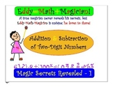 Addition and Subtraction of Two-Digit Numbers. K-4 Smart B