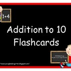 Addition to 10 Flashcards