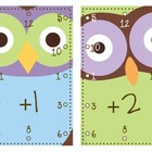 Addition/Subtraction Pencil Hole Flashcards