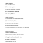 Adjectifs (French Adjectives) worksheet 5