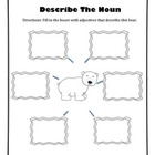 Adjective Activity - Describe the Bear