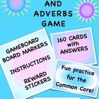 Adjective Adverb Game {Common Core Supplement}
