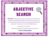 Adjective Book Search