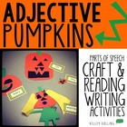 Adjective Pumpkins - Craftivity + Center Activities