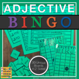 Adjectives BINGO