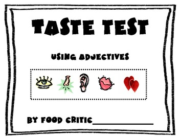 Adjectives: A Tasty Test