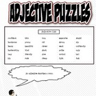 Adjectives Puzzle Set (Assorted Adjectives)