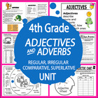 Adjectives and Adverbs-4th Grade Common Core Lessons