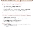 Adjectives and Adverbs: Ten-Minute Grammar Unit #20