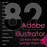 Adobe Illustrator Bellringer Warm Ups Do Nows