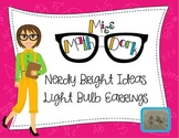 """Adorable """"Bright Ideas"""" Light Bulb Earrings (shipping included)"""