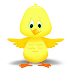 FREEBIE Adorable Spring Chicken (chick)