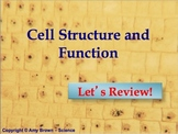 Advanced Placement (AP) Biology Review PPT Cell Structure