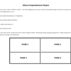Africa Project: Geography, History, Health Concerns, & Economy