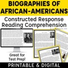 African-American Heroes: Answering Text-Based Inferential