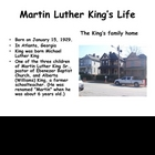 African American History: Dr. Martin Luther King Jr. Power