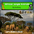 African Jungle Animals Habit and Literacy Pack