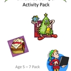 Age 5-7 Christmas Bumper Activity Pack