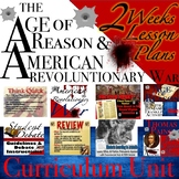 Age of Reason & The American Revolutionary War Curriculum Unit