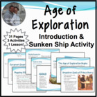 Age of Exploration Introduction Ppt Notes w/Sunken Ship Activity