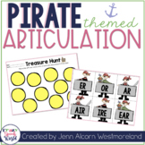 Pirate Articulation Activities!