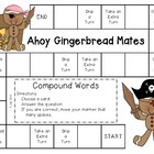 Ahoy Gingerbread Mates--Compound Words Game