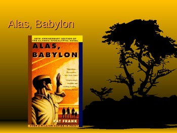 Alas Babylon PowerPoint Presentation Background Novel Information