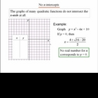 Algebra 1: 930 Graphing Quadratic Functions