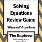Algebra 2 Push Your Luck! Review Game - Absolute Value, Qu