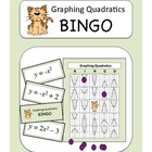 Algebra: Graphing Quadratics BINGO Game