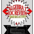 "Algebra I/Integrated I ""Grab Bag"" Review Questions"