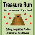 Algebra: Solving Inequalities Game - Treasure Run