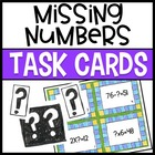 Algebra Task Cards and Sort