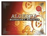 Algebra Summary Sheets / Posters