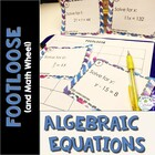 Algebraic Equations Footloose