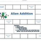 Alien Addition Game