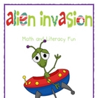 Alien Invasion Math and Literacy Fun
