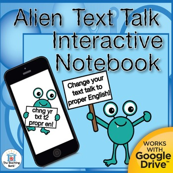 Alien Text Talk Daily Language Practice~Grammar, Spelling,