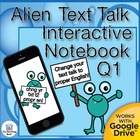 Alien Text Talk QTR 1 Daily Language Practice~ Grammar, Spelling
