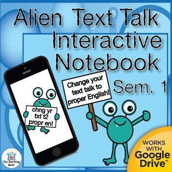 Text to English Semester 1 Daily Language Practice ~ Gramm