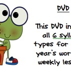 All 6 Syllable Types on 1 DVD