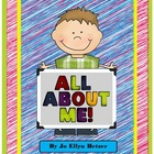 All ABOUT ME! - poster - book - timeline PACK