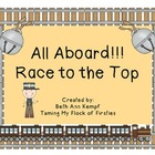 All Aboard!!! Race to the Top (First/Second Grade Sight Words)