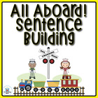 All Aboard! Sentence Building Literacy Center ~ Common Cor